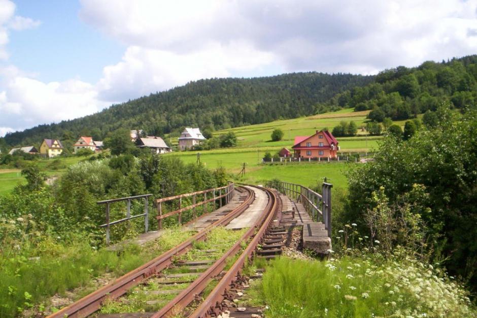 PKP PLK ma środki na ratowanie linii kolejowej Chabówka - Nowy Sącz
