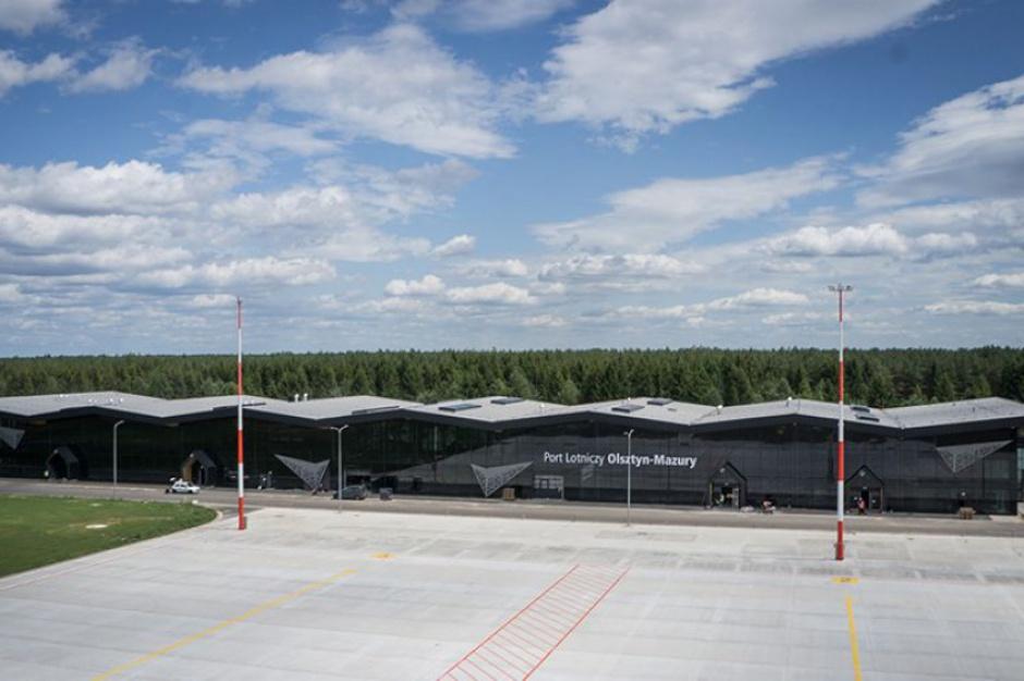 Port Lotniczy Olsztyn-Mazury: Pociągi na lotnisko w Szymanach już kursują