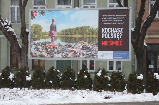 Billboard - Kochasz Polskę? Nie śmieć (fot.mat.pras.)