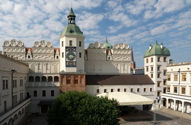 Szczecin, Zamek Książąt Pomorskich: Wokół zamku powstaną tarasy i ogrody