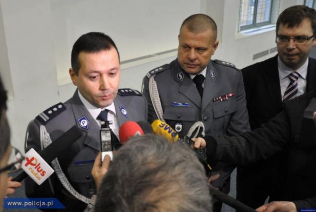 Olsztyn: Tomasz Klimek nowym komendantem wojewódzkim policji