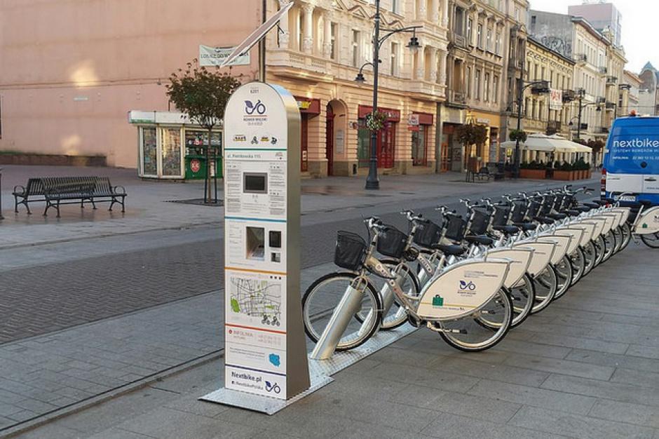 Łódź, rowery miejskie: Wiosną będzie sto stacji i tysiąc rowerów do wypożyczenia