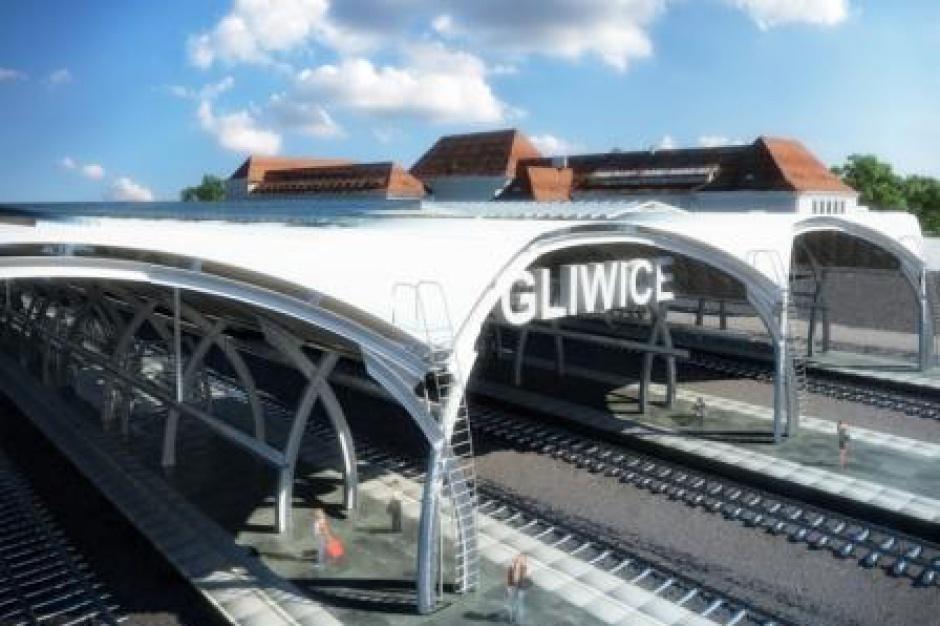 Gliwice, dworzec PKP: Wybierają koncepcję Nowego Centrum przesiadkowego
