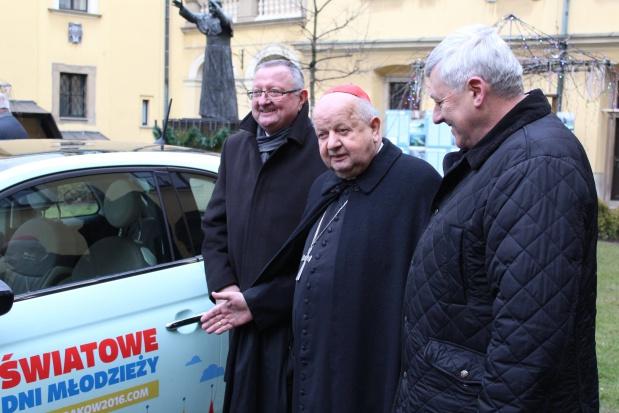 Kraków, Światowe Dni Młodzieży 2016: 75 samochodów do dyspozycji Komitetu Organizacyjnego