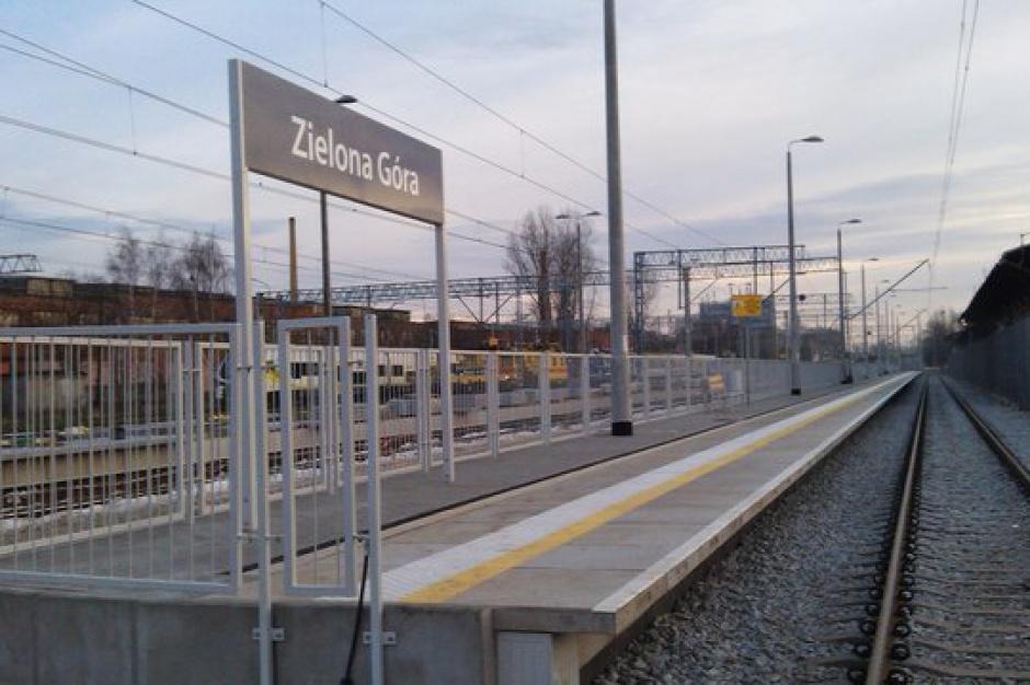 Zielona Góra, PKP: Nowe perony, monitoring i informacja pasażerska na stacji