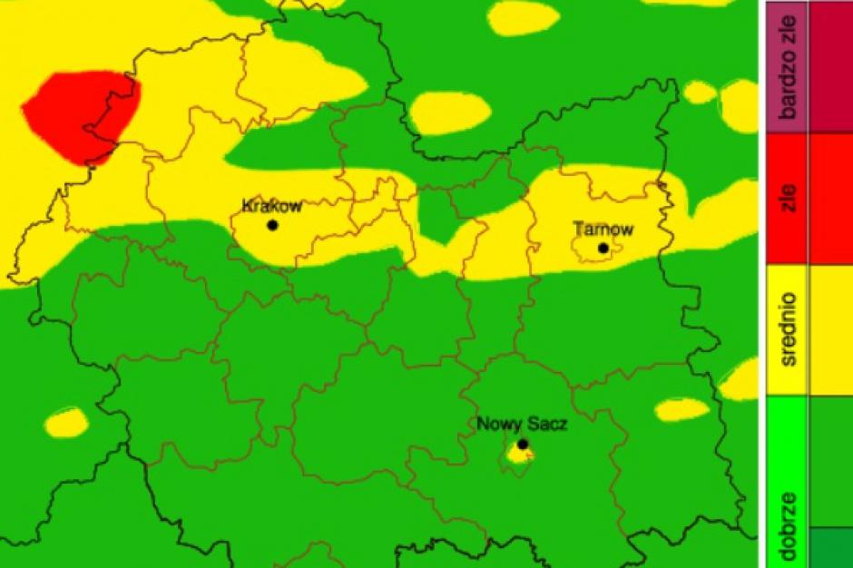 Małopolska, stan powietrza: Nowa wersja serwisu z prognozą jakości powietrza