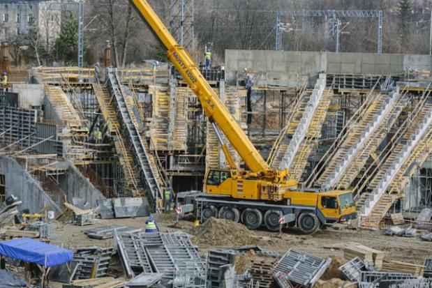 Łódź: Rośnie stadion Widzewa