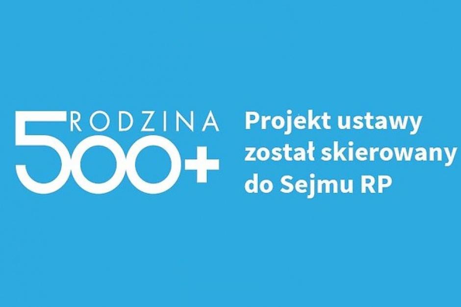 500 zł na dziecko: 9 lutego Sejm zajmie się programem Rodzina 500 plus