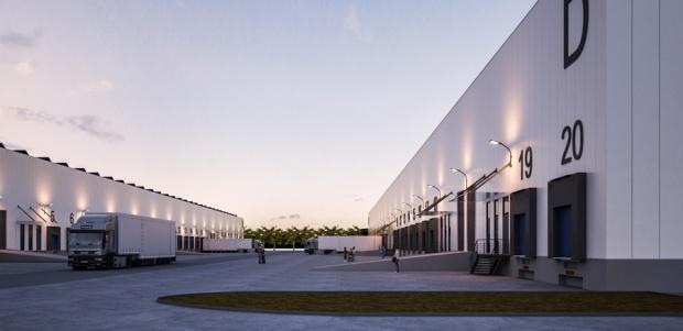 Pierwsza hala parku logistycznego wMłynach już wkwietniu