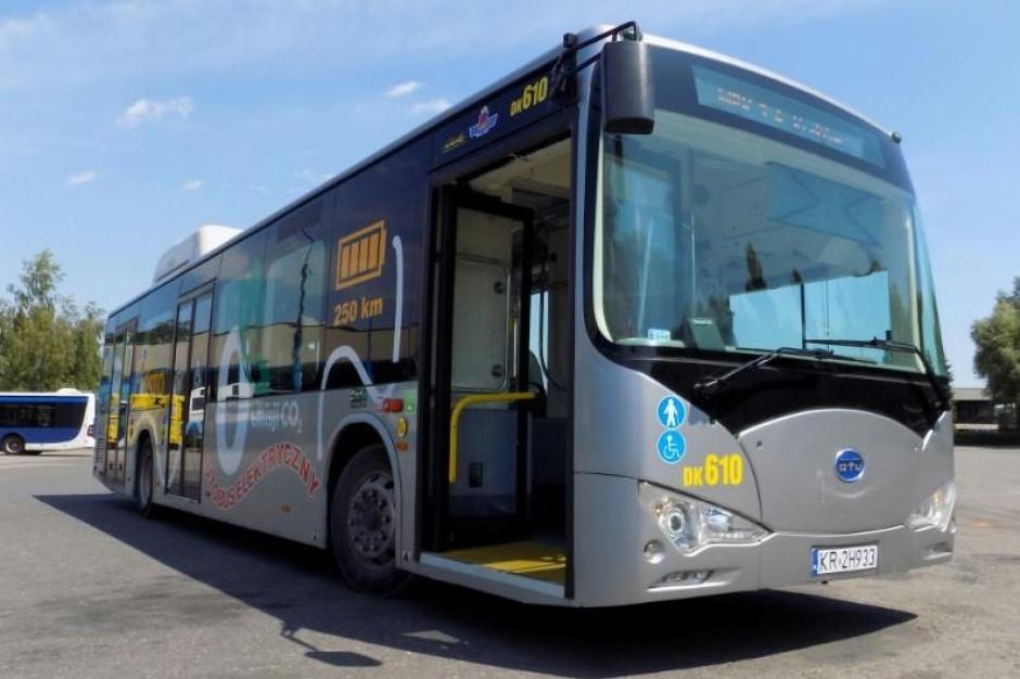Rzeszów chce kupić 10 autobusów elektrycznych