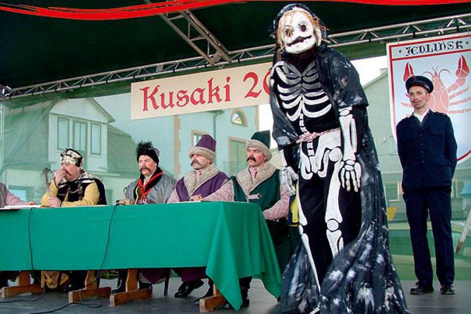 Ścięcie Śmierci nazakończenie karnawału wJedlińsku