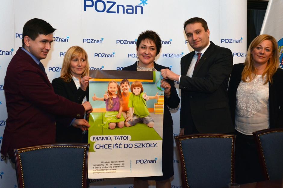Poznań, Wiśniewski: 6-latki, które pójdą do szkoły, będą mieć lepsze warunki do nauki niż ich rówieśnicy