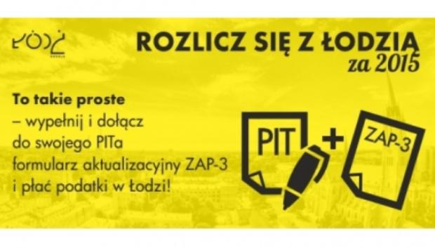 Łódź, podatki: Miasto zachęca do płacenia PIT także niezameldowanych