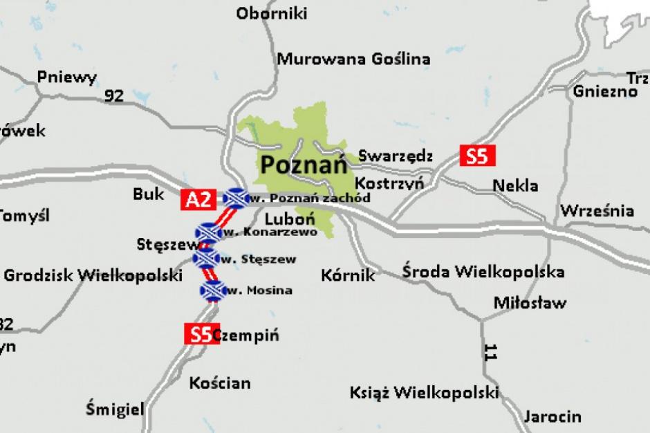 Droga S5 Poznań-Wrocław: Rozstrzygnięto przetarg na budowę 19 km drogi