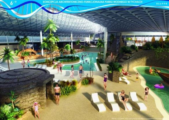 Tychy: Aquapark będzie ogrzewany przez oczyszczalnię ścieków