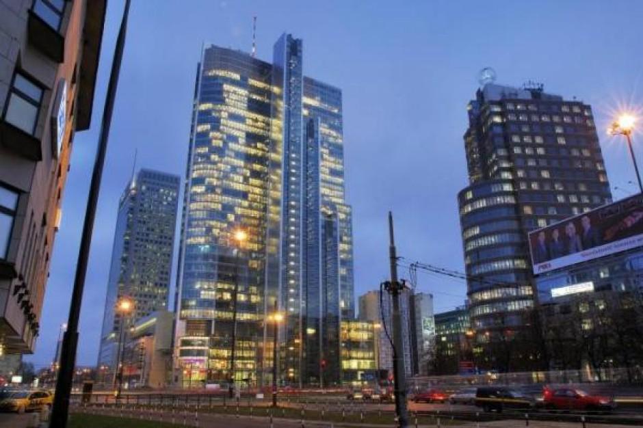 Rondo 1 w Warszawie. (Fot. : www.propertynews.pl).