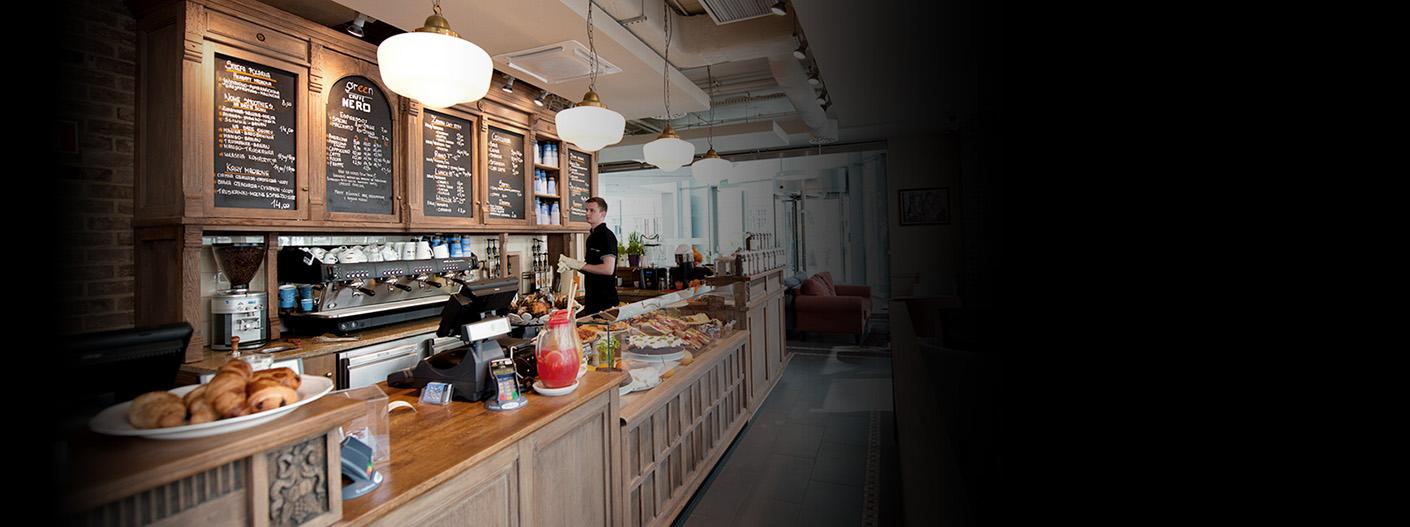 Kawiarnia Green Caffe Nero (Fot. : www.greencaffenero.pl).