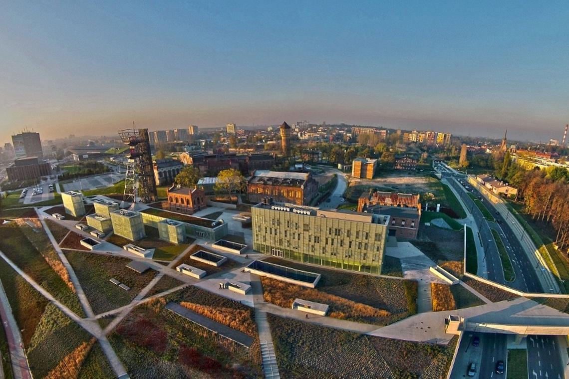 Strefa Kultury w Katowicach. (Fot. : www.propertydesign.pl).