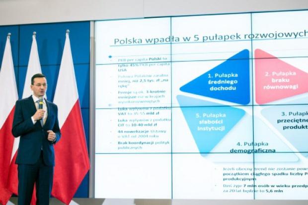 Rosati: Plan Morawieckiego to zbiór pobożnych życzeń, za którymi nie idą konkretne działania