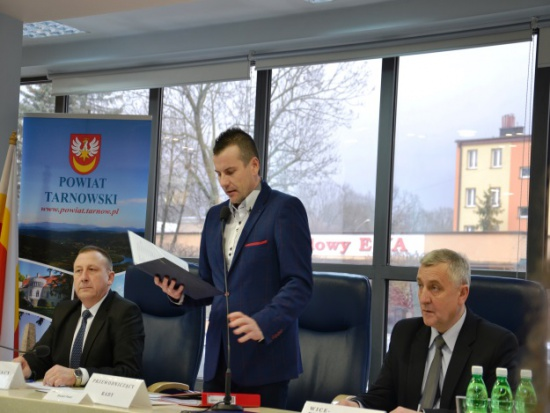Zmiany w zarządzie i prezydium Rady Powiatu Tarnowskiego