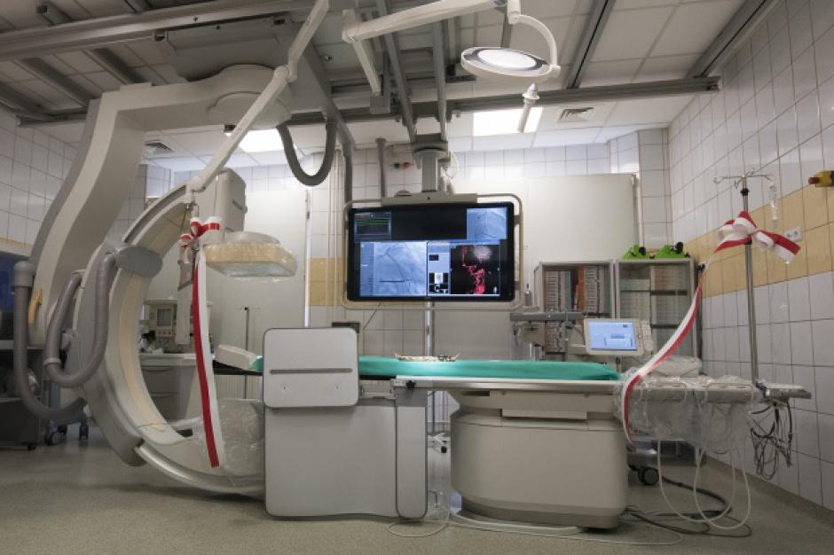 Bytom: Szpital wojewódzki ma nowoczesny angiograf