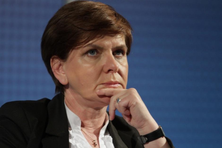 Wyborcza porażka kandydata PiS w Radomsku. Beata Szydło zabrała głos