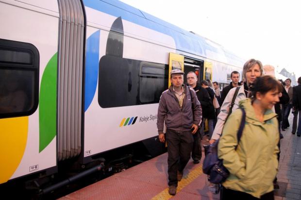 Piotr Stomma, wiceminister infrastruktury zapowiada wspólny bilet na kolei