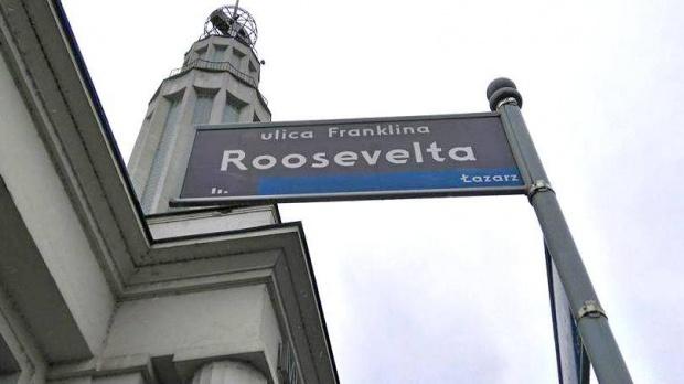 Poznań: ulica Roosevelta zmieni nazwę na Lecha Kaczyńskiego?