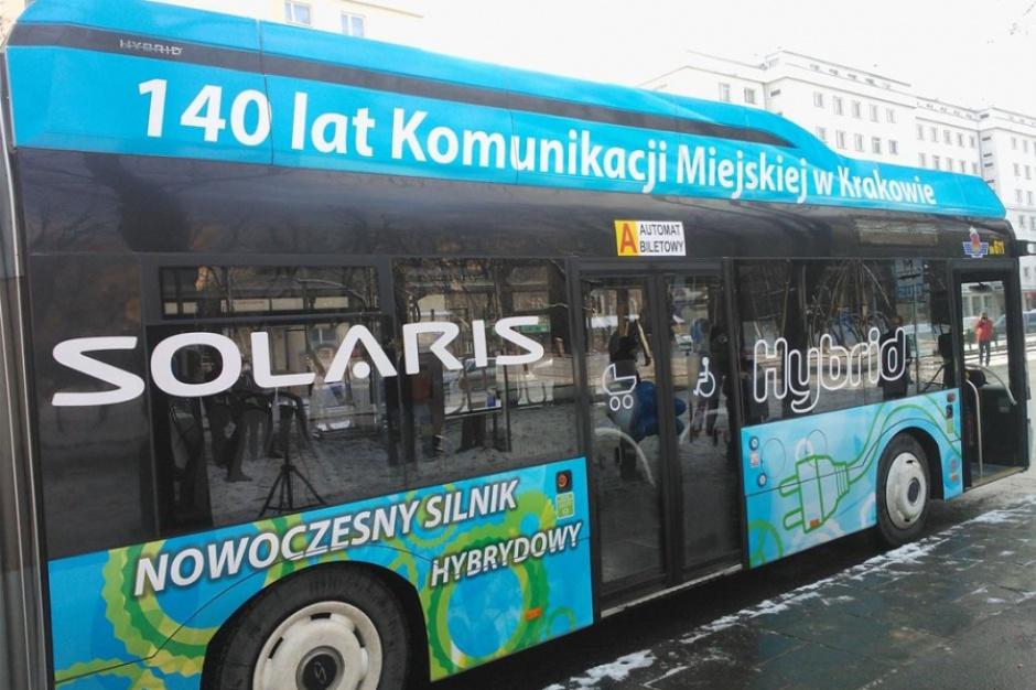 Krakowski MPK kupuje 12 hybrydowych Solarisów