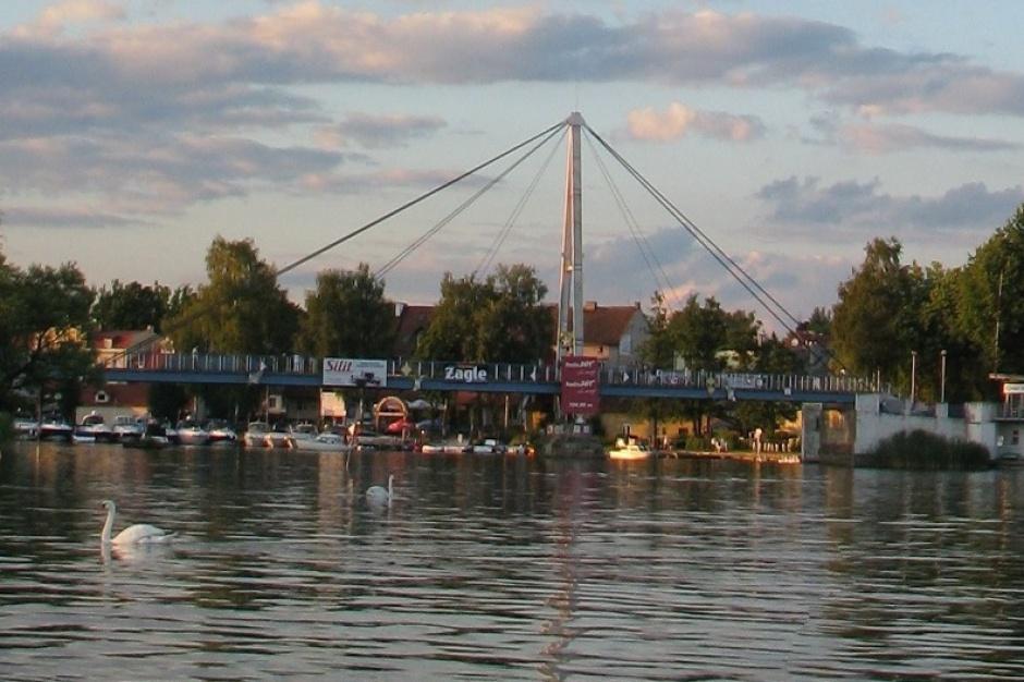 Mikołajki: Most zdemontowany. Będzie nowy