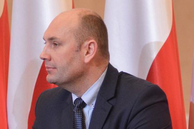 Wiceminister MSWiA Sebastian Chwałek (fot.mswia.gov.pl)