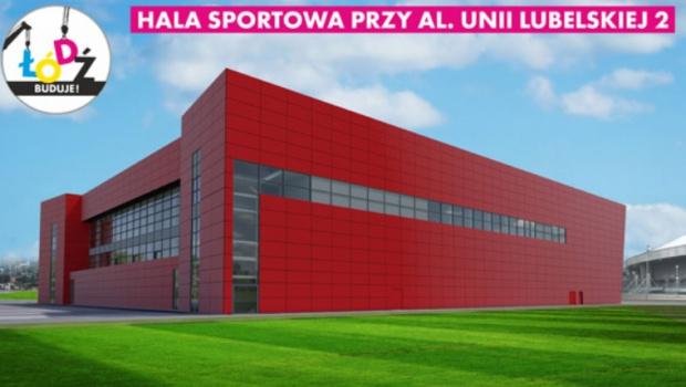Łódź: Powstanie nowa hala sportowa. Ma stanowić zaplecze treningowe dla imprez międzynarodowych