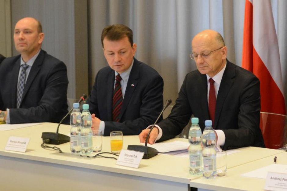 Minister Błaszczak przewodniczył komisji wspólnej. Będzie się zbierać w MSWiA