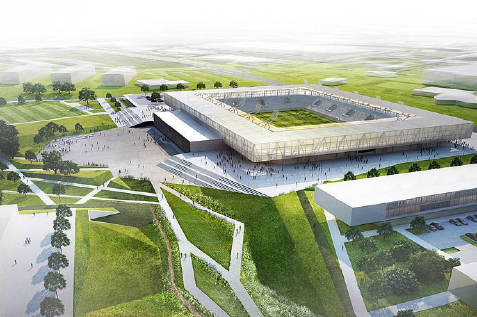 Za 2,3 mln zł powstanie projekt stadionu miejskiego w Olsztynie