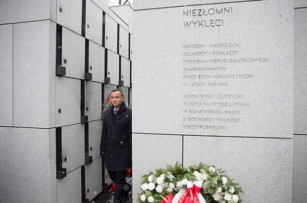 Andrzej Duda: Musi powstać prawdziwe mauzoleum Żołnierzy Wyklętych