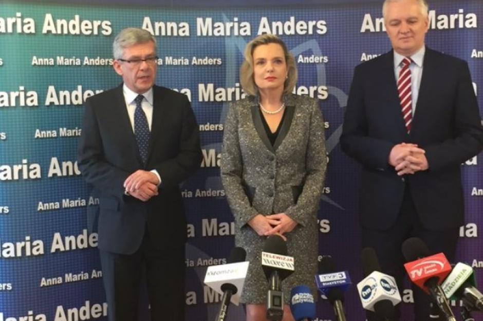 Podlaskie, wybory uzupełniające do Senatu: Karczewski i Gowin wspierają Annę Marię Anders