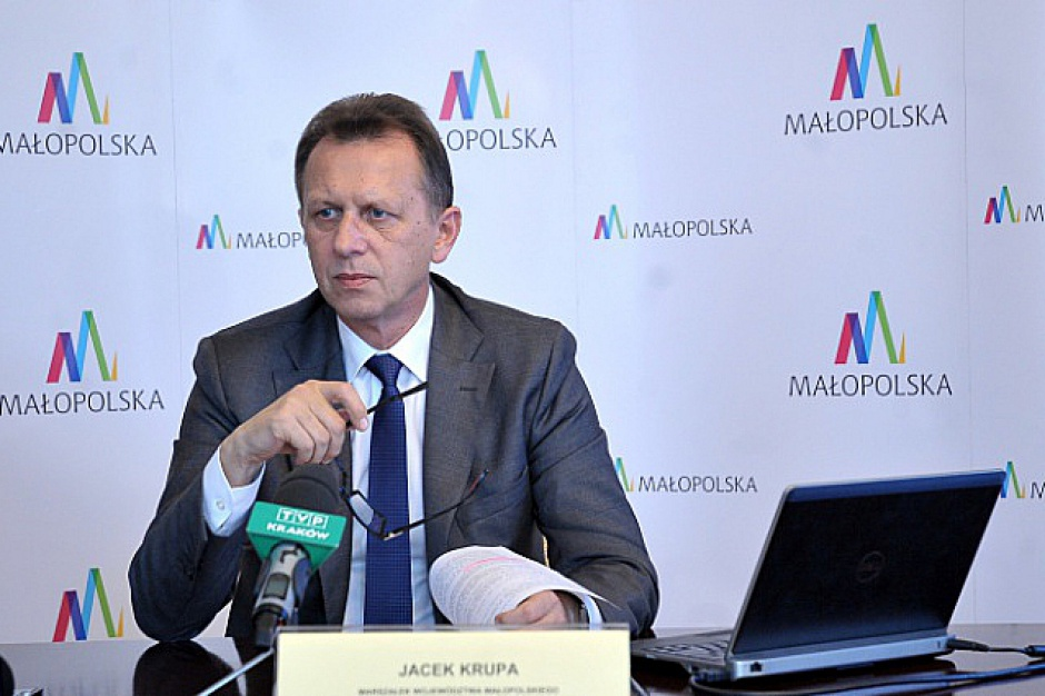 Małopolska RPO 2014-2020, Krupa: W 2016 r. unijne programy ruszają pełną parą