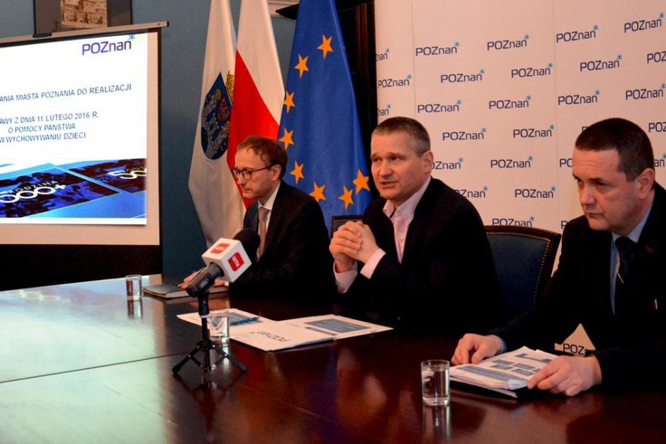 Poznań przygotowany do wypłaty świadczeń 500 plus. Urząd zatrudni dodatkowo 55 osób