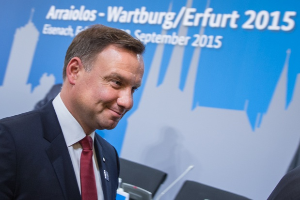 Prezydent Andrzej Duda chwali polskie miasta