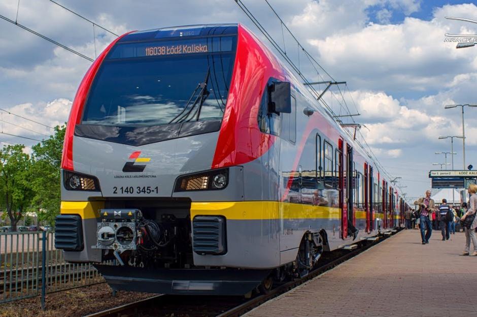 Aglomeracyjna kolej połączy Łódź z Warszawą