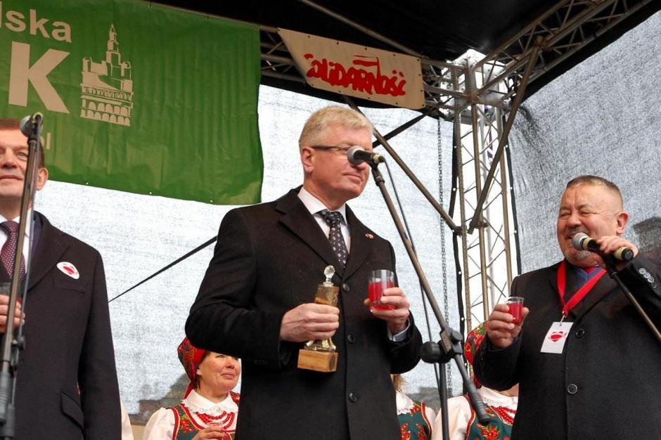 Prezydent Poznania wręczył Żurawinę
