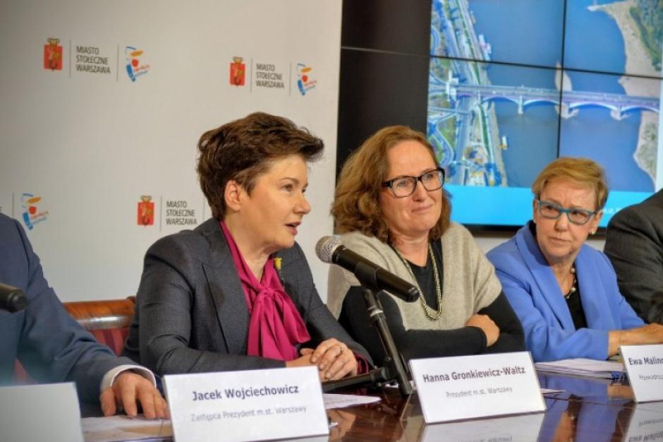 Warszawa: Za pieniądze z oszczędności powstanie kładka nad Wisłą i tunele pod torami