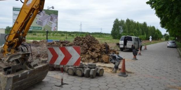 Piotrków Trybunalski dozbraja ul. Broniewskiego