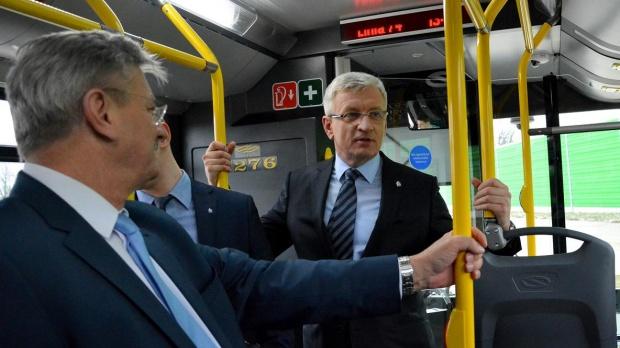 Nowe autobusy na ulicach Poznania. MPK wydzierżawiło je od konsorcjum Solaris