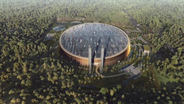 Chińskie miasto buduje największą spalarnię śmieci