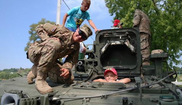 Opole: Amerykańscy żołnierze pokazali mieszkańcom swój sprzęt