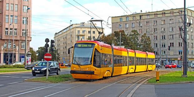 Tędy poprowadzą tramwaj w Warszawie. Zobacz trasę z lotu ptaka