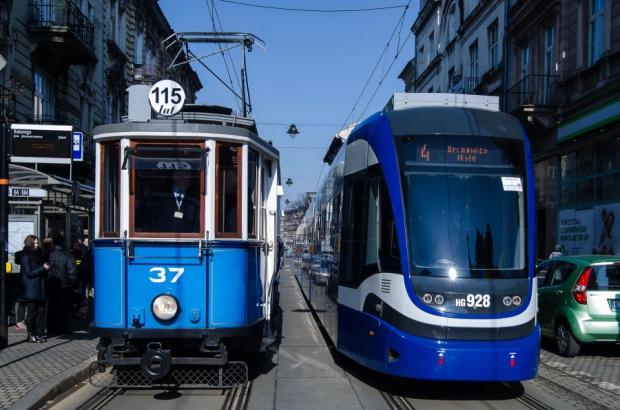 Od 115 lat elektryczne tramwaje kursują w Krakowie