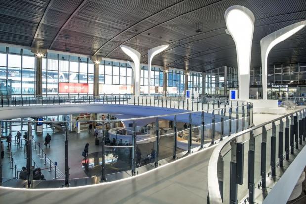 Warszawa, Dworzec Centralny: Otwarto nową antresolę