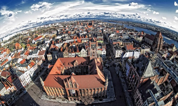 Toruń: Powstaje ortofotomapa miasta
